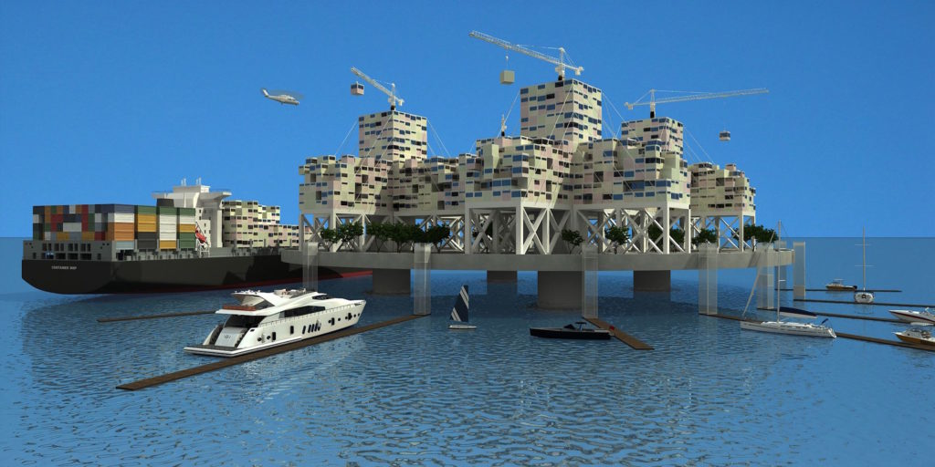 Libertarian billionaires want to make Waterworld a reality