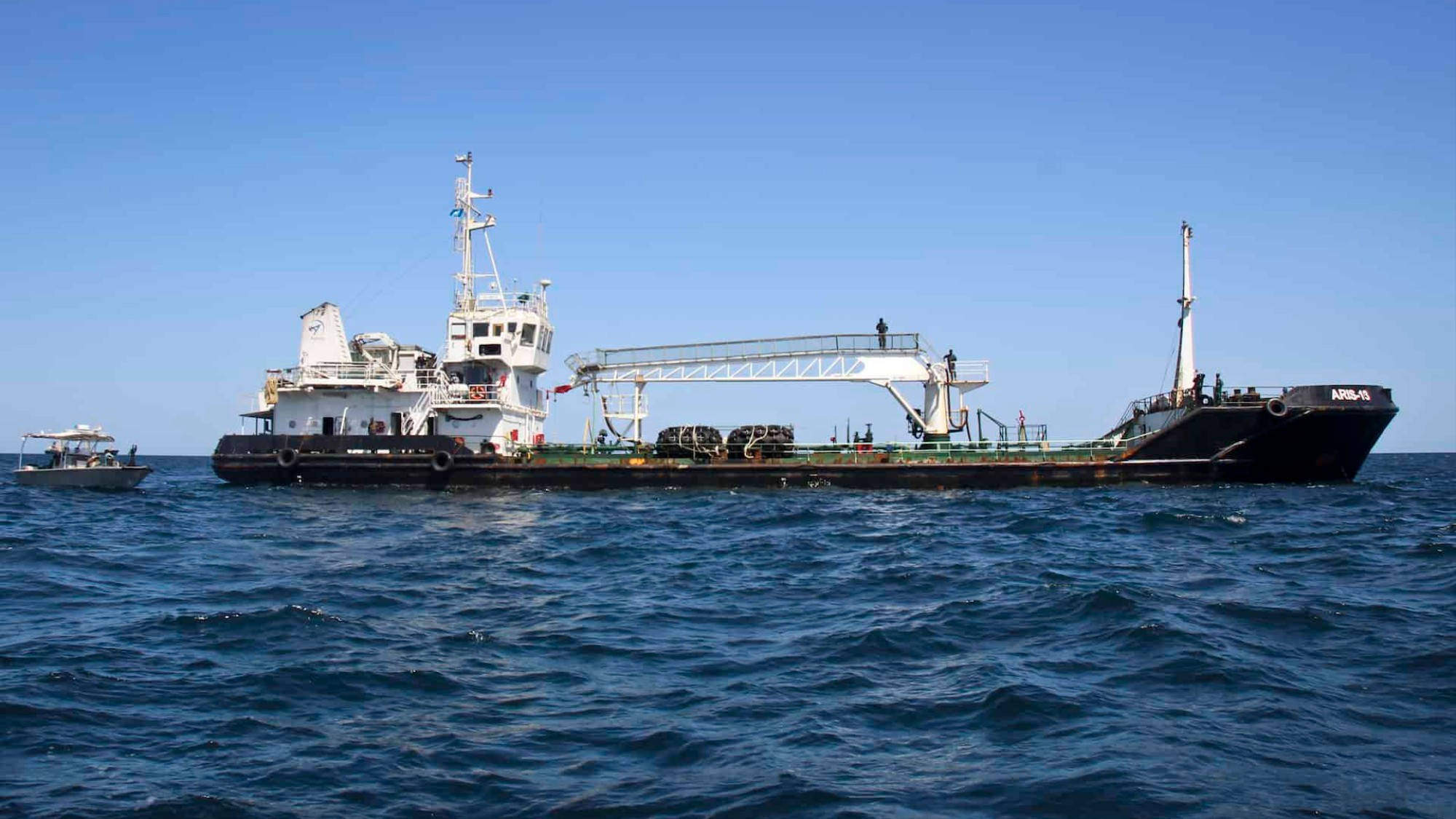 Somali pirates hijacked a second boat and have made it their
