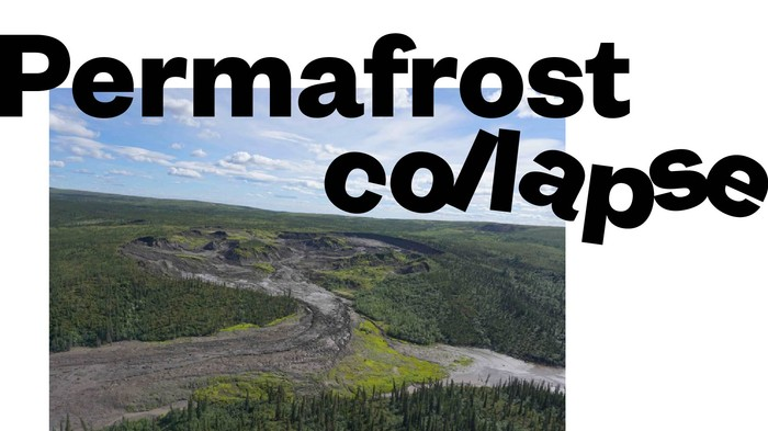 Canada's permafrost is collapsing thanks to climate change