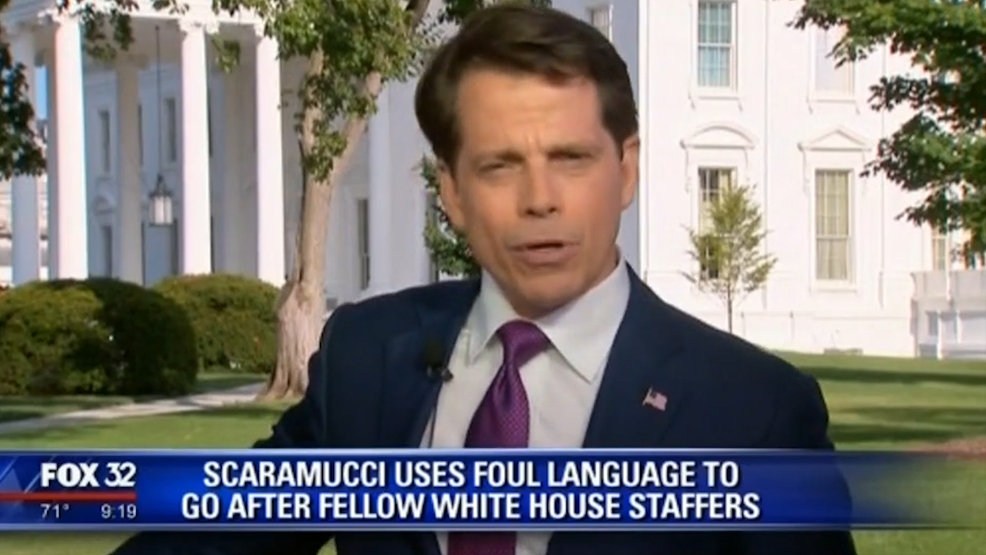 News anchors can't (expletive) handle the Mooch - VICE