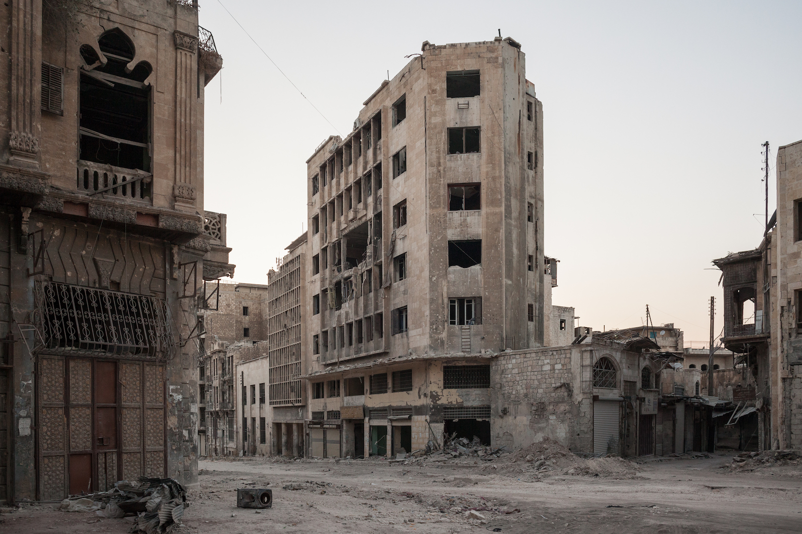 Syria in ruins A Canadian photojournalist captures scenes ...