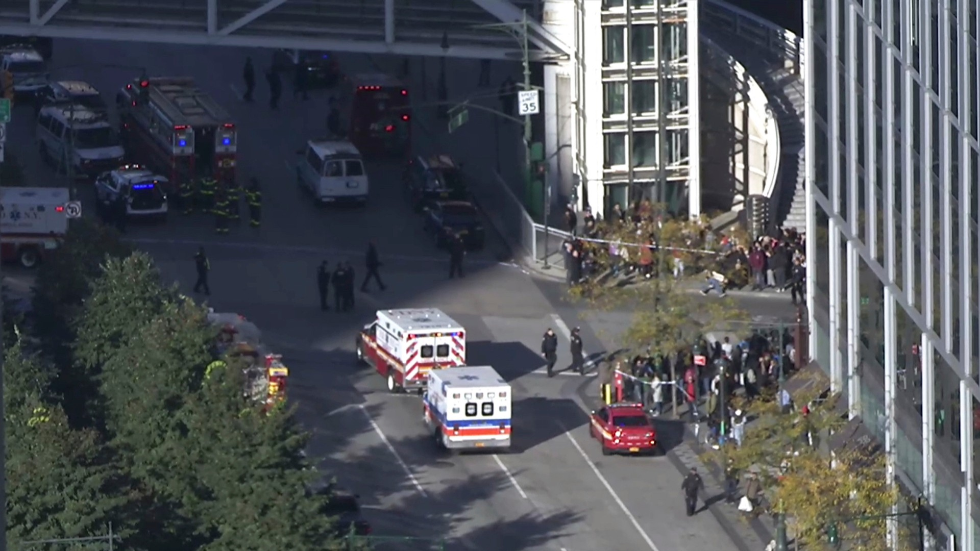 Multiple fatalities reported in incident near World Trade Center